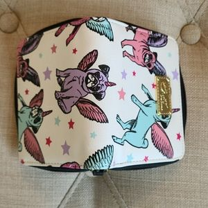 Betsey Johnson zip around wallet